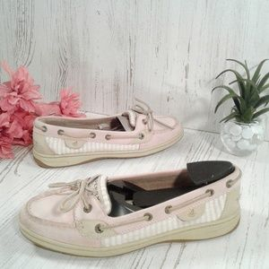 Sperry Top-Sider pale pink Angel 2-eye loafers